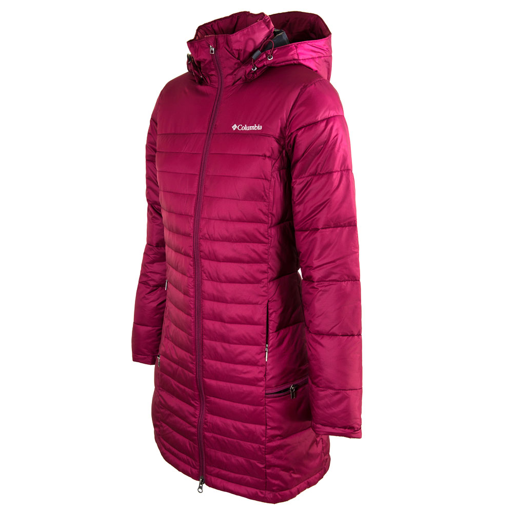 Campera columbia mujer - Powder pillow tapado  127eaa1c179